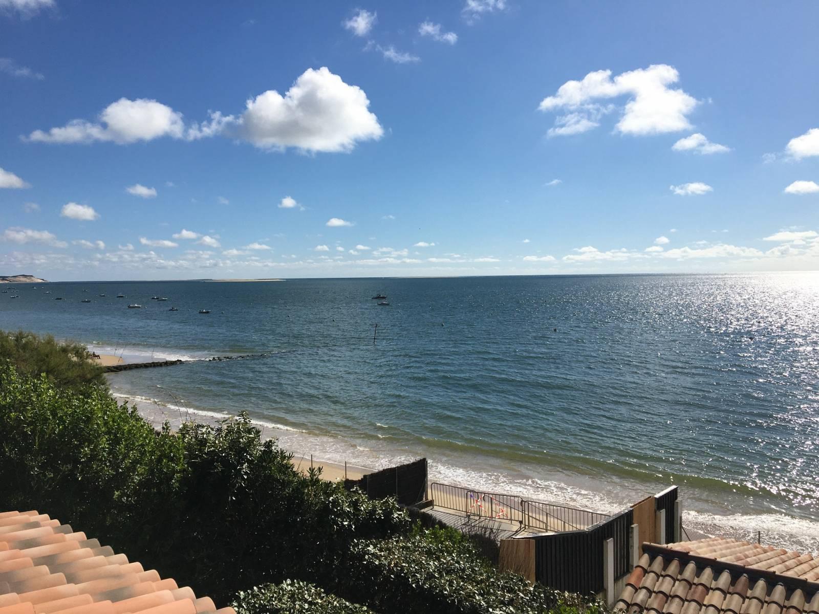 Pyla Plage Maison De Bord De Mer Avec Acces Direct Sur Le Bassin D